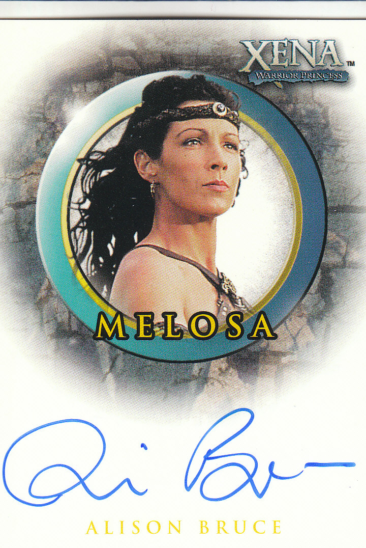 2002 Xena Beauty and Brawn Autographs #A24 Alison Bruce