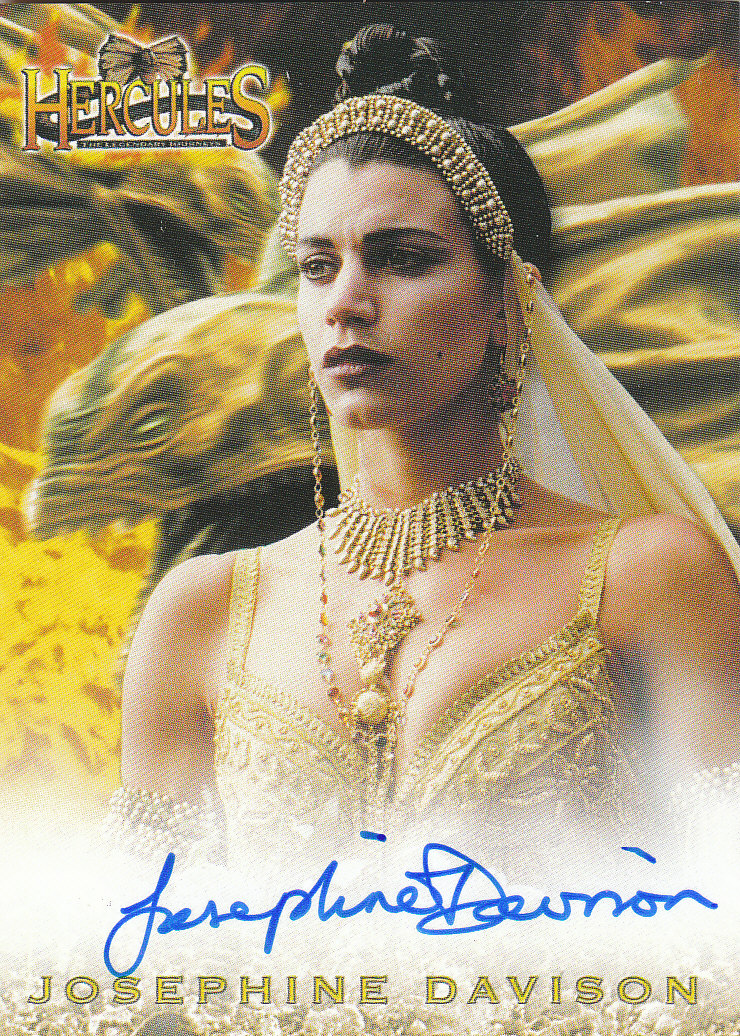 2001 Hercules The Complete Journeys Autographs #A12 Josephine Davison