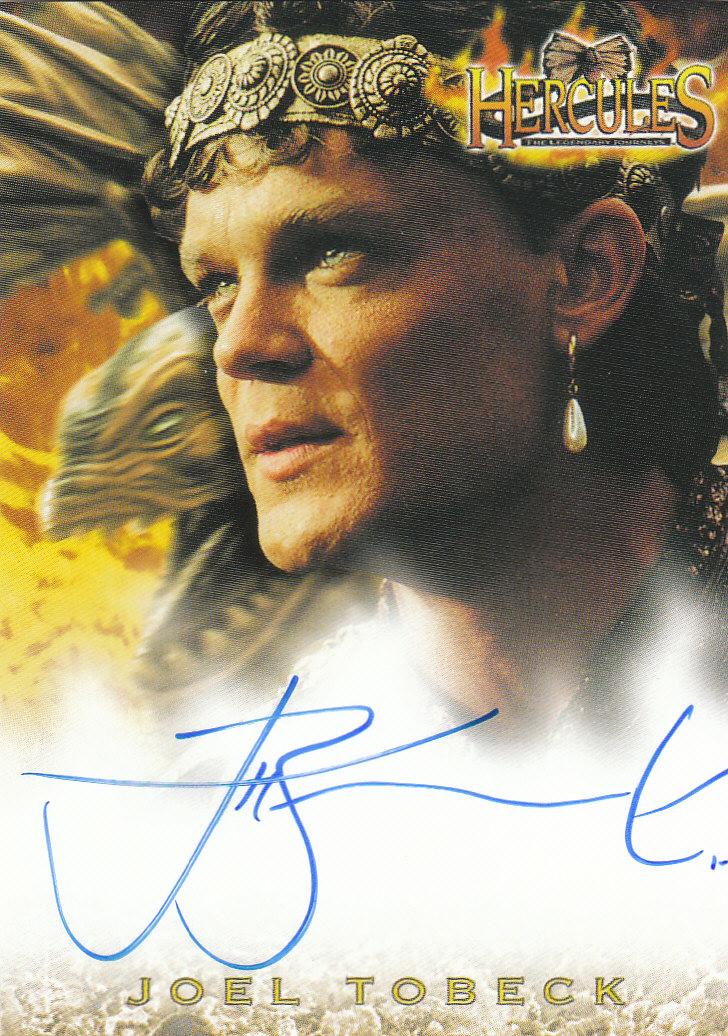 2001 Hercules The Complete Journeys Autographs #A13 Joel Tobeck