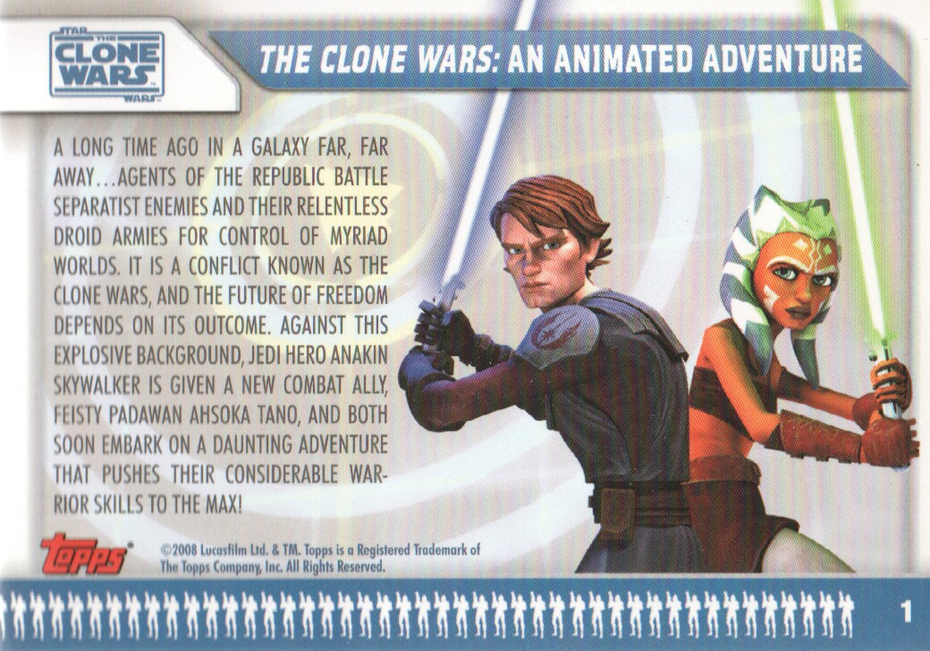 Details about  /CHEAP PROMO CARD STAR WARS CLONE WARS 2008 #P1 ONE SHIP FEE PER ORDER