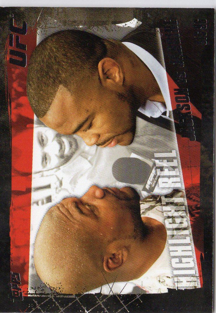 2010 Topps UFC Silver #192 Quinton Jackson/Keith Jardine