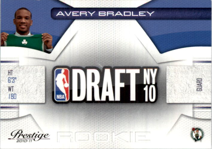 2010-11 Prestige NBA Draft Class #19 Avery Bradley
