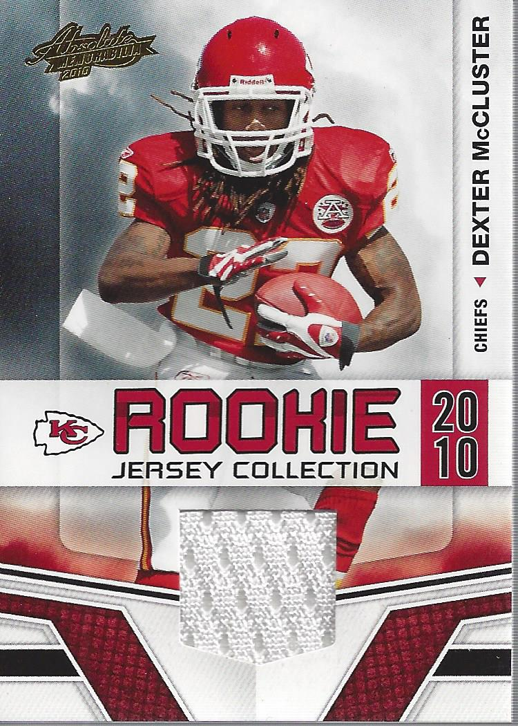 2010 Absolute Memorabilia Rookie Jersey Collection #10 Dexter ...
