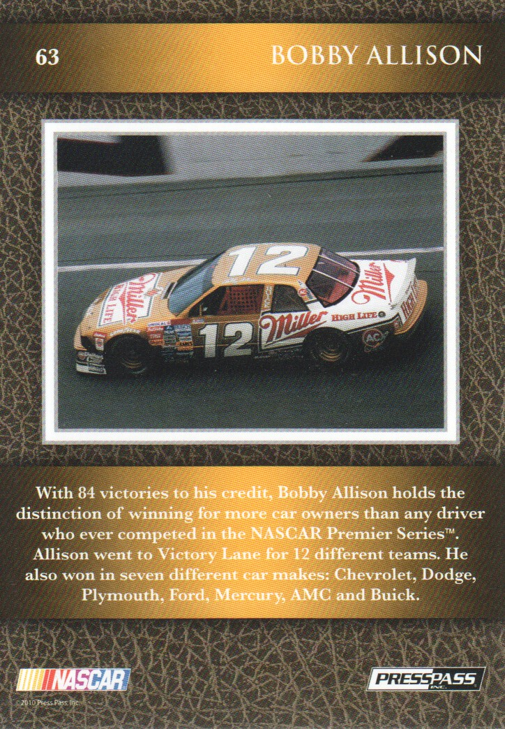 2010-Press-Pass-Legends-Parallels-NASCAR-Racing-Cards-Pick-From-List thumbnail 11