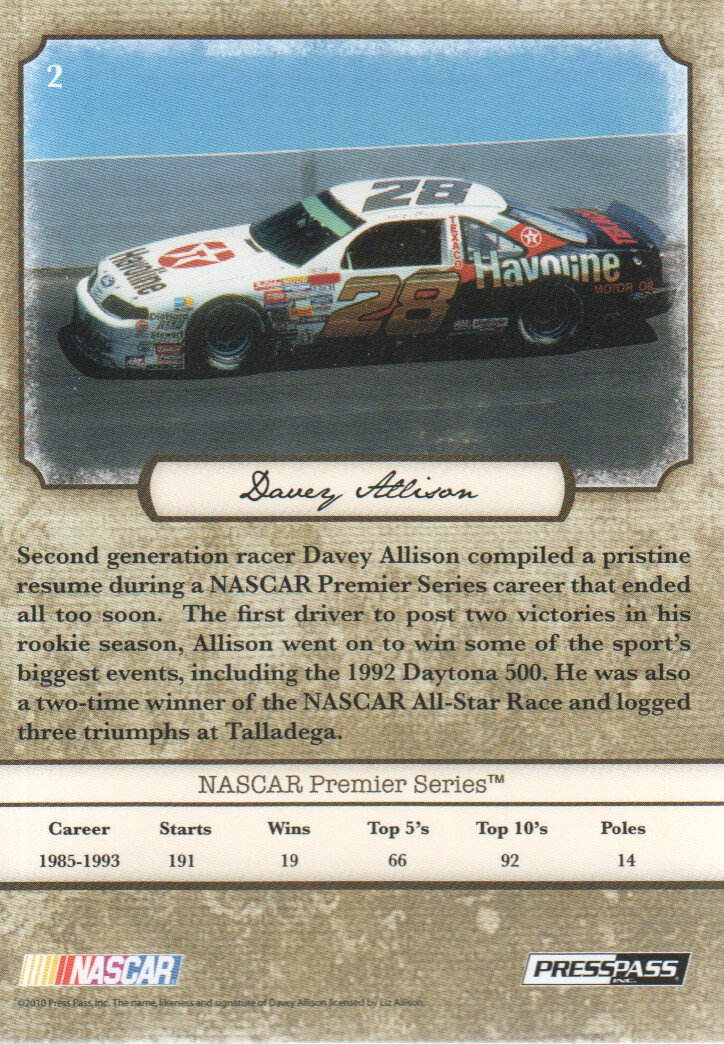 2010-Press-Pass-Legends-Parallels-NASCAR-Racing-Cards-Pick-From-List thumbnail 15