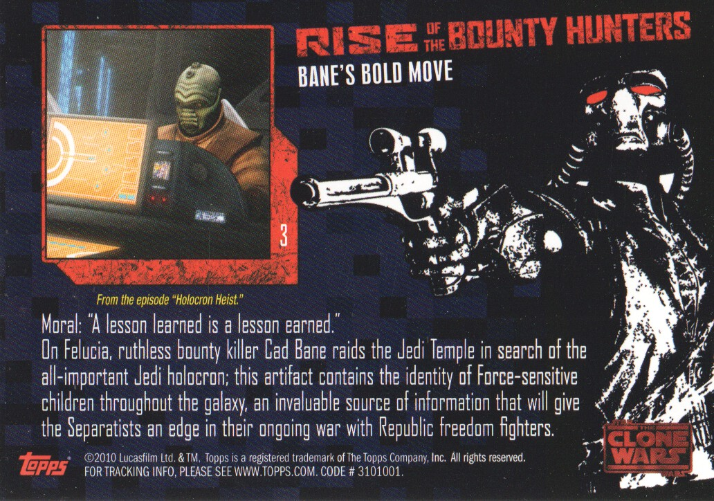 2010-Star-Wars-The-Clone-Wars-Rise-of-the-Bounty-Hunters-Cards-Pick-From-List miniature 7