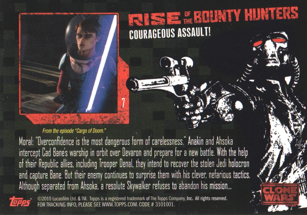 2010-Star-Wars-The-Clone-Wars-Rise-of-the-Bounty-Hunters-Cards-Pick-From-List miniature 15