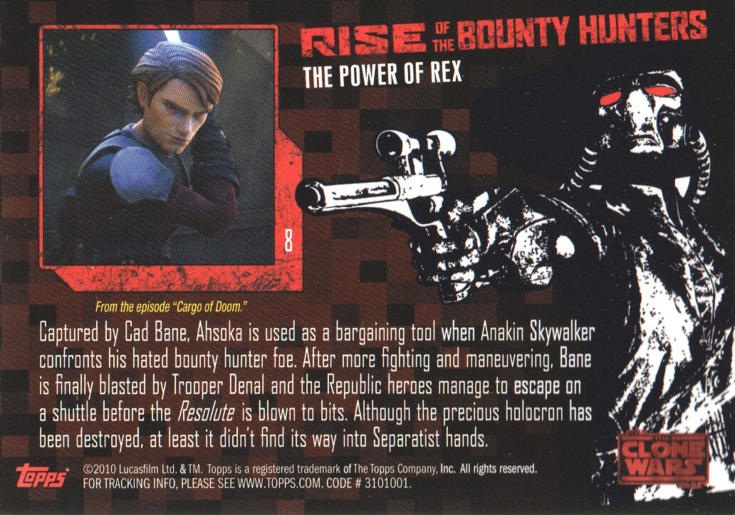 2010-Star-Wars-The-Clone-Wars-Rise-of-the-Bounty-Hunters-Cards-Pick-From-List miniature 17