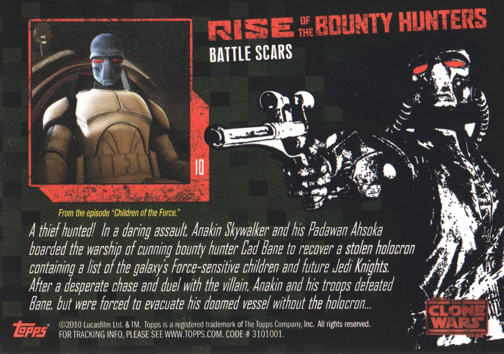 2010-Star-Wars-The-Clone-Wars-Rise-of-the-Bounty-Hunters-Cards-Pick-From-List miniature 21
