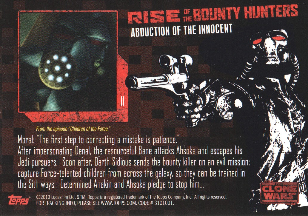 2010-Star-Wars-The-Clone-Wars-Rise-of-the-Bounty-Hunters-Cards-Pick-From-List miniature 23