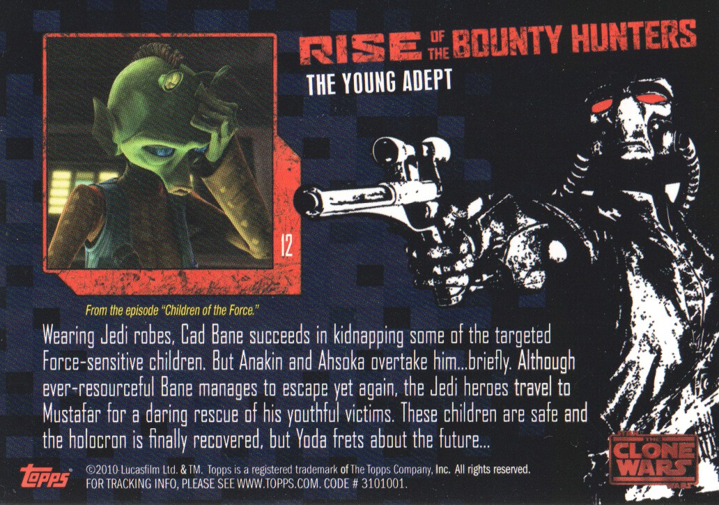 2010-Star-Wars-The-Clone-Wars-Rise-of-the-Bounty-Hunters-Cards-Pick-From-List miniature 25