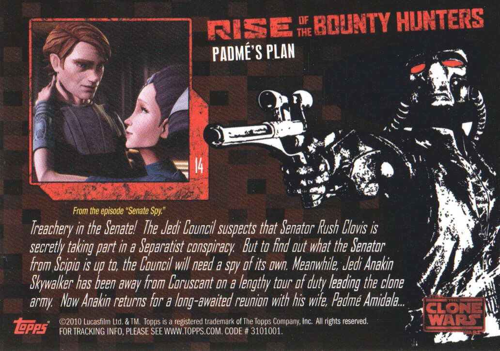 2010-Star-Wars-The-Clone-Wars-Rise-of-the-Bounty-Hunters-Cards-Pick-From-List miniature 29