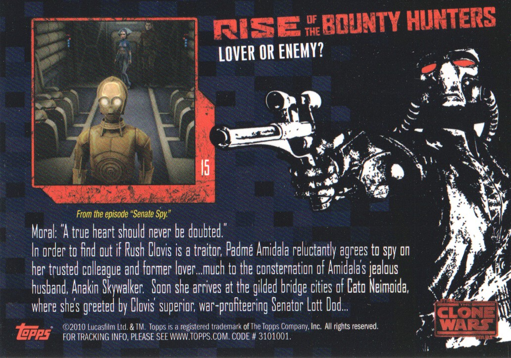 2010-Star-Wars-The-Clone-Wars-Rise-of-the-Bounty-Hunters-Cards-Pick-From-List miniature 31