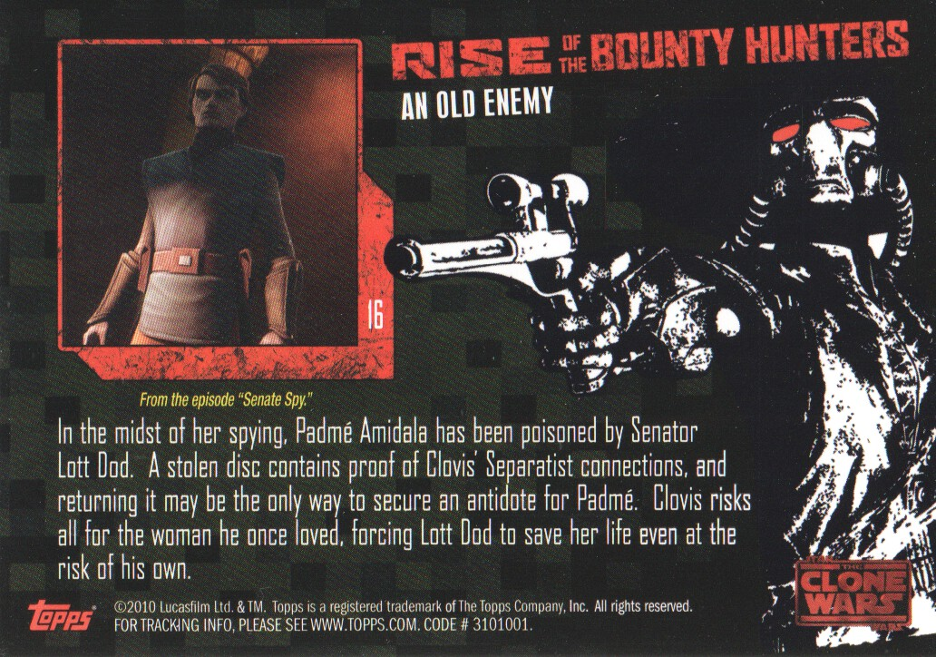 2010-Star-Wars-The-Clone-Wars-Rise-of-the-Bounty-Hunters-Cards-Pick-From-List miniature 33
