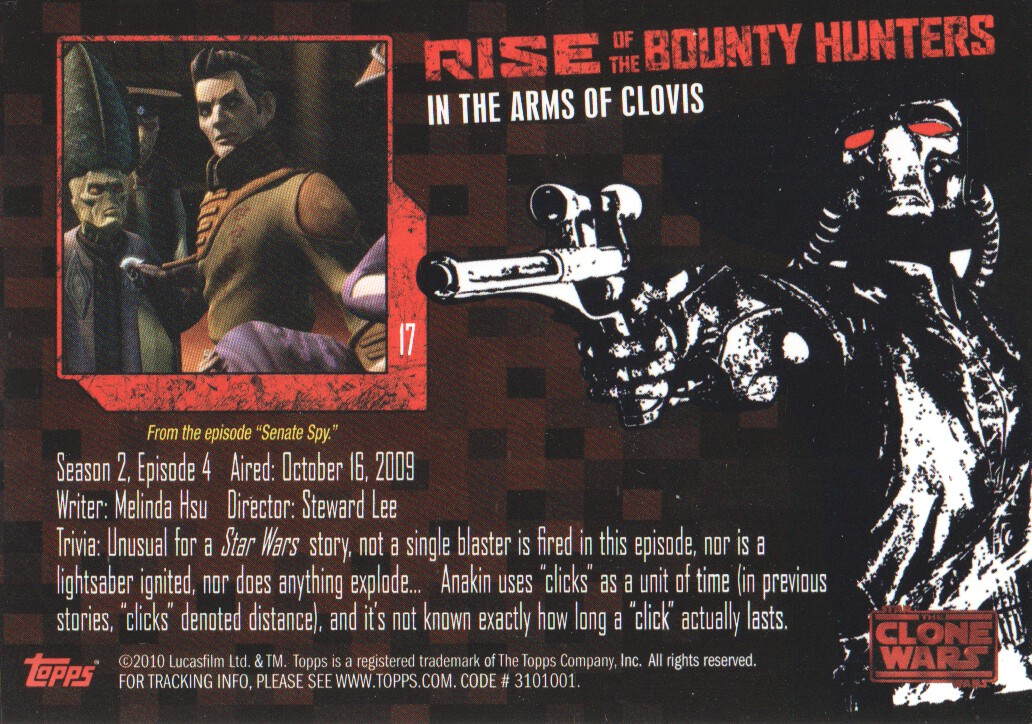 2010-Star-Wars-The-Clone-Wars-Rise-of-the-Bounty-Hunters-Cards-Pick-From-List miniature 35