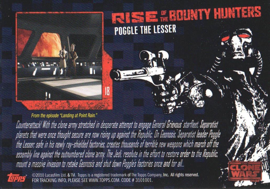 2010-Star-Wars-The-Clone-Wars-Rise-of-the-Bounty-Hunters-Cards-Pick-From-List miniature 37