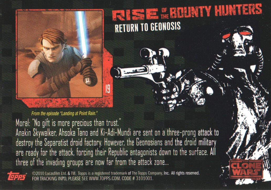 2010-Star-Wars-The-Clone-Wars-Rise-of-the-Bounty-Hunters-Cards-Pick-From-List miniature 39
