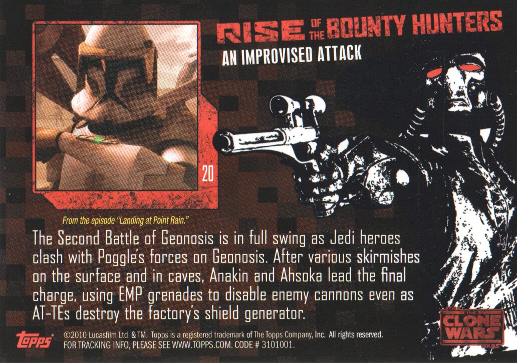 2010-Star-Wars-The-Clone-Wars-Rise-of-the-Bounty-Hunters-Cards-Pick-From-List miniature 41