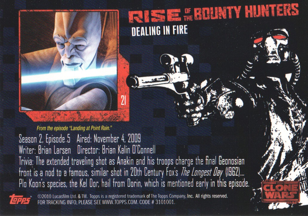 2010-Star-Wars-The-Clone-Wars-Rise-of-the-Bounty-Hunters-Cards-Pick-From-List miniature 43
