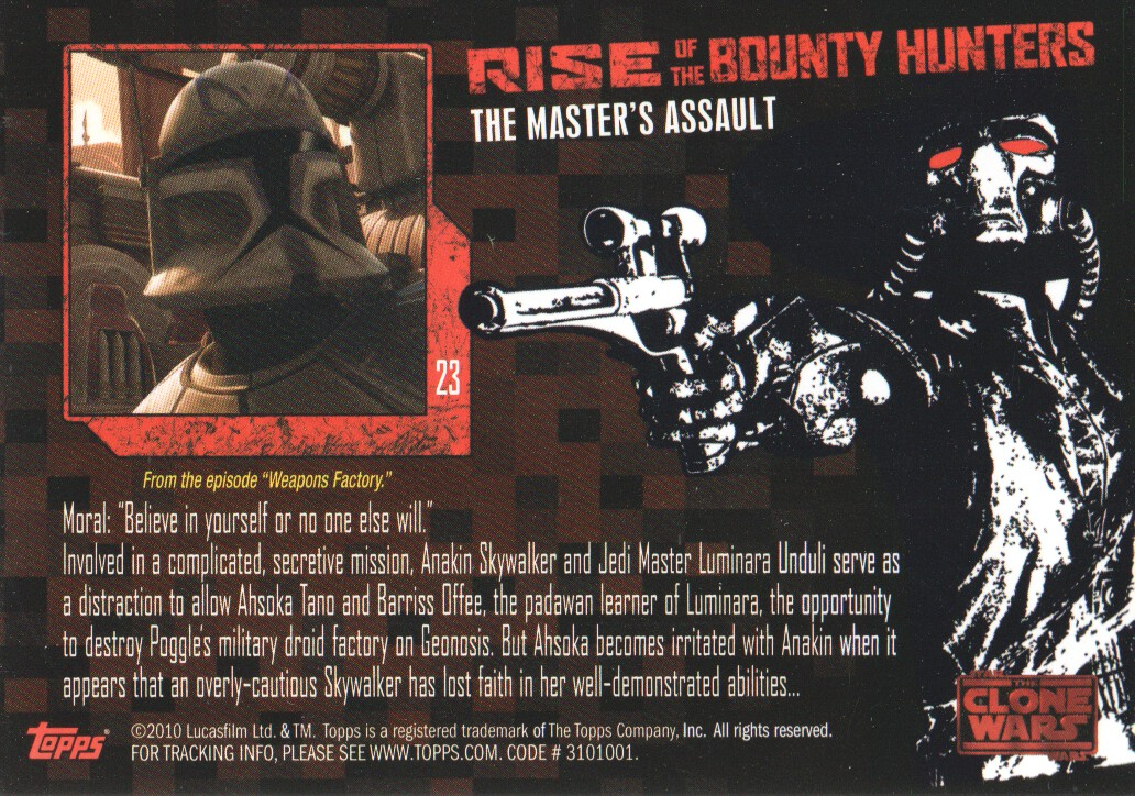 2010-Star-Wars-The-Clone-Wars-Rise-of-the-Bounty-Hunters-Cards-Pick-From-List miniature 47