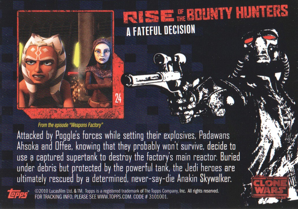 2010-Star-Wars-The-Clone-Wars-Rise-of-the-Bounty-Hunters-Cards-Pick-From-List miniature 49