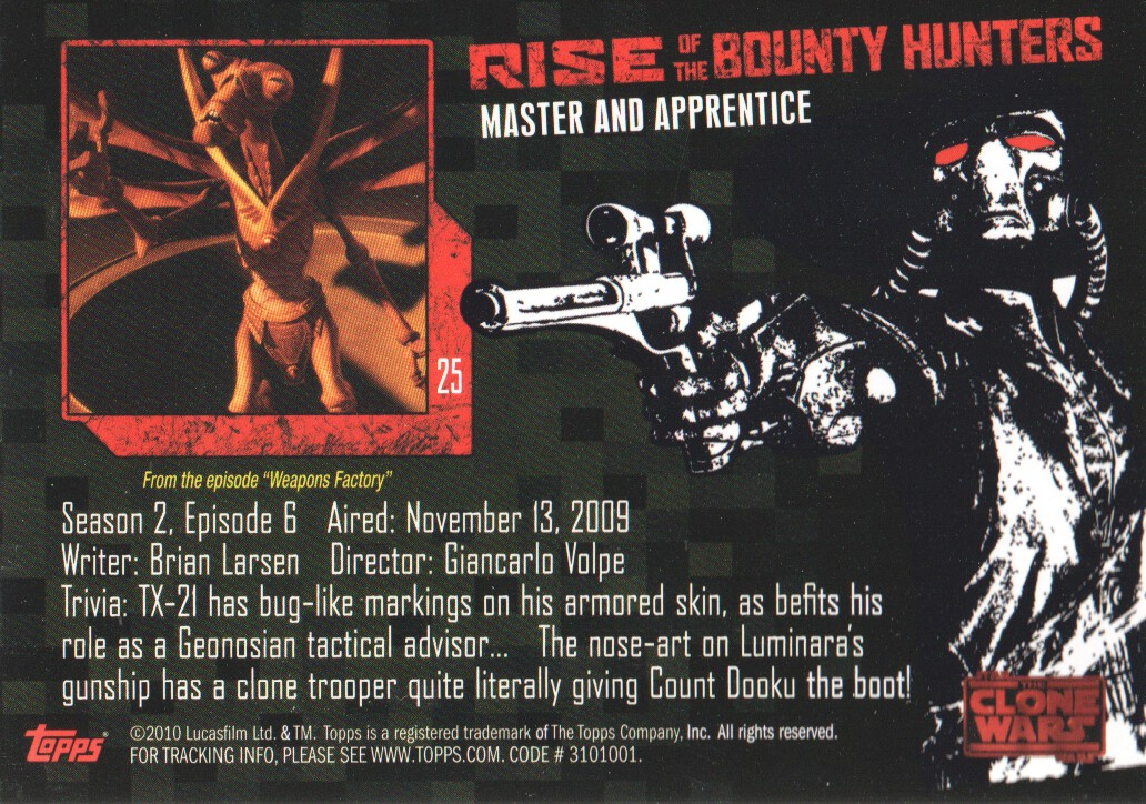 2010-Star-Wars-The-Clone-Wars-Rise-of-the-Bounty-Hunters-Cards-Pick-From-List miniature 51
