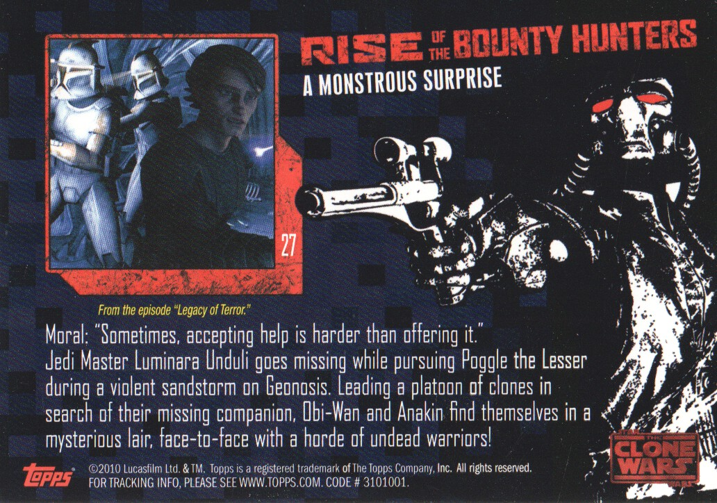 2010-Star-Wars-The-Clone-Wars-Rise-of-the-Bounty-Hunters-Cards-Pick-From-List miniature 55