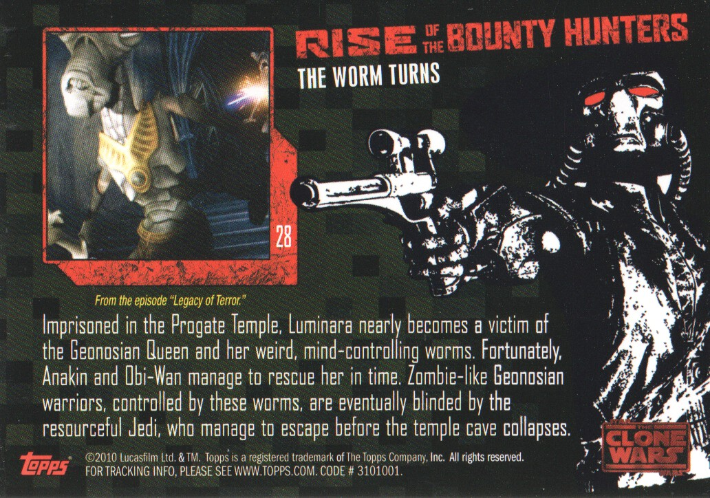 2010-Star-Wars-The-Clone-Wars-Rise-of-the-Bounty-Hunters-Cards-Pick-From-List miniature 57