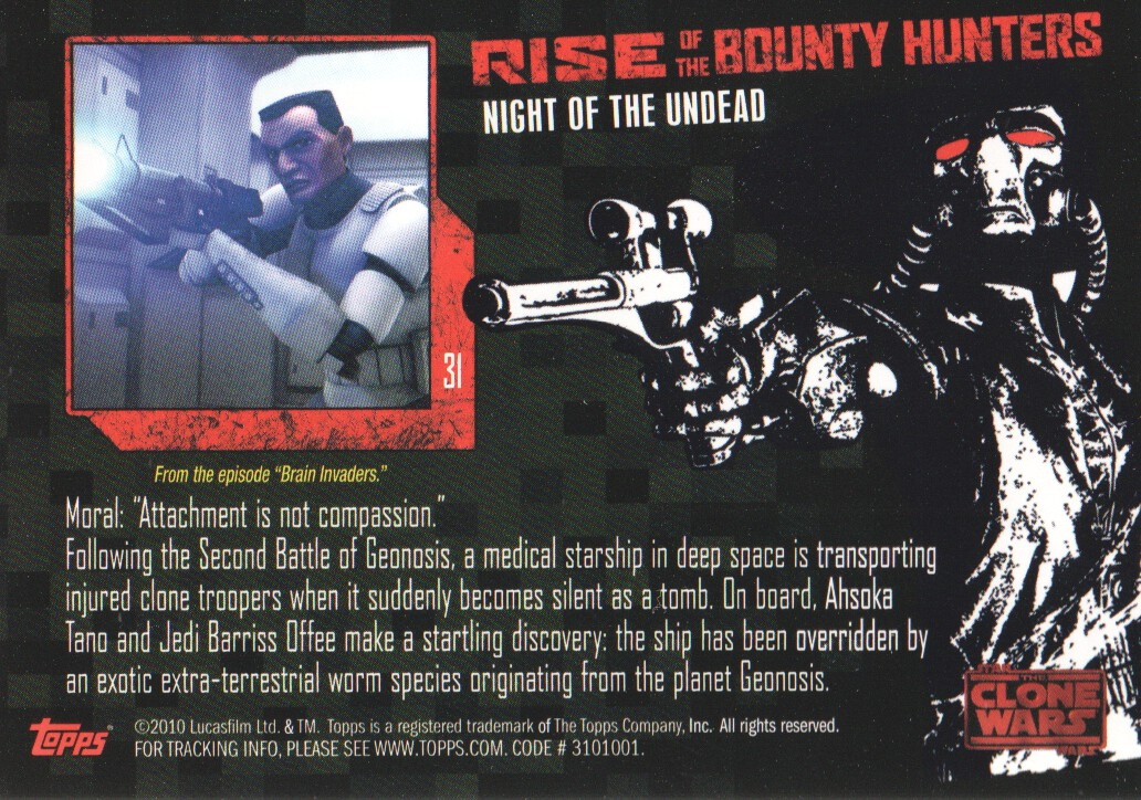 Details about 2010 Star Wars The Clone Wars Rise of the Bounty Hunters  Cards Pick From List