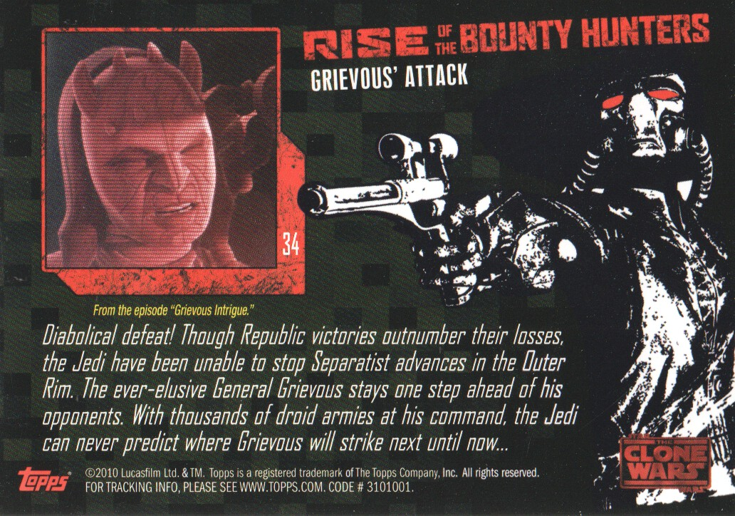 2010-Star-Wars-The-Clone-Wars-Rise-of-the-Bounty-Hunters-Cards-Pick-From-List miniature 69