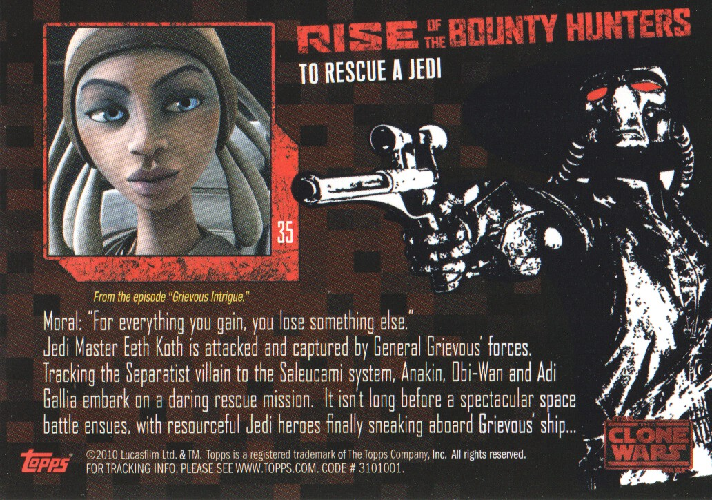 2010-Star-Wars-The-Clone-Wars-Rise-of-the-Bounty-Hunters-Cards-Pick-From-List miniature 71