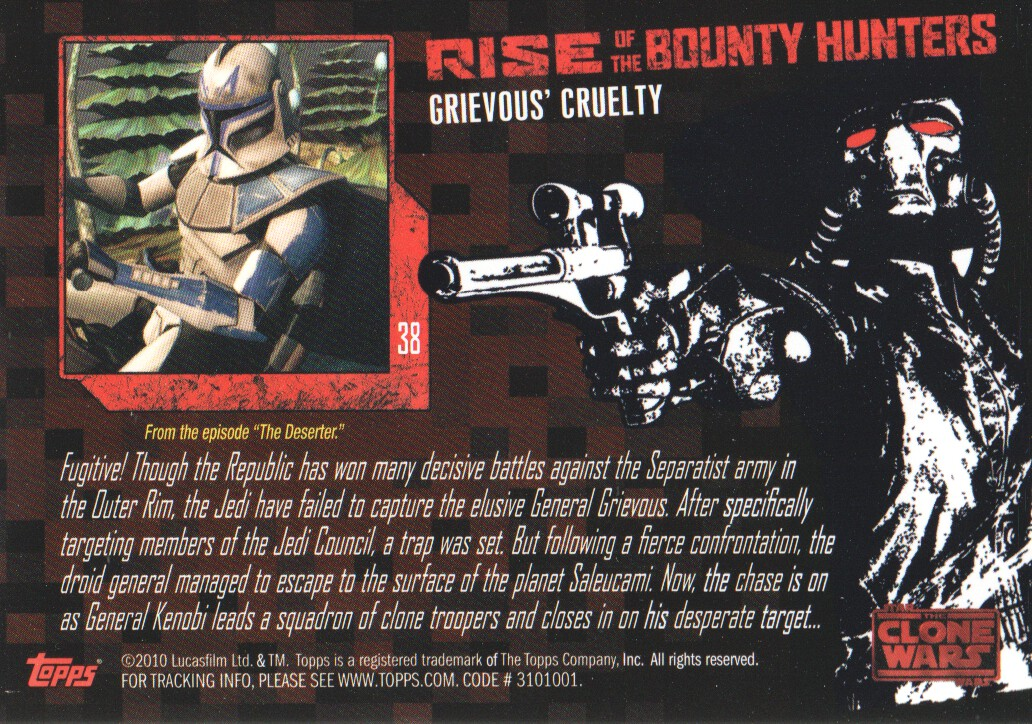 2010-Star-Wars-The-Clone-Wars-Rise-of-the-Bounty-Hunters-Cards-Pick-From-List miniature 77