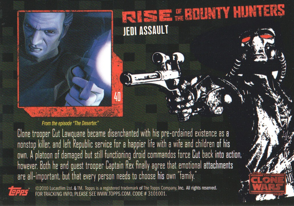 2010-Star-Wars-The-Clone-Wars-Rise-of-the-Bounty-Hunters-Cards-Pick-From-List miniature 81