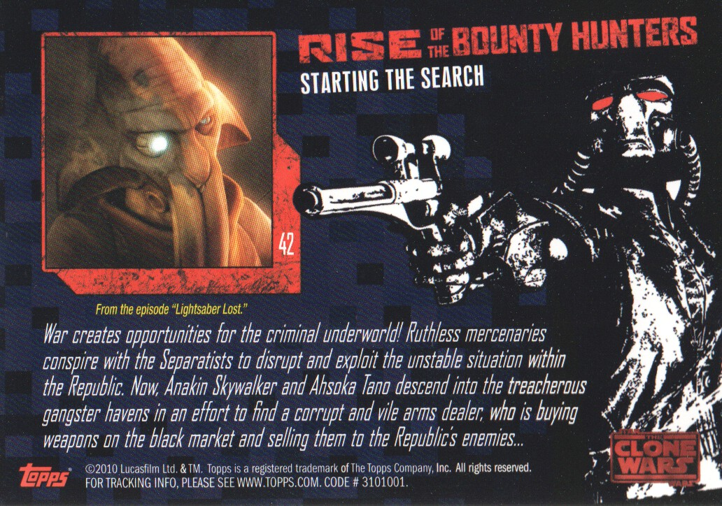 2010-Star-Wars-The-Clone-Wars-Rise-of-the-Bounty-Hunters-Cards-Pick-From-List miniature 85