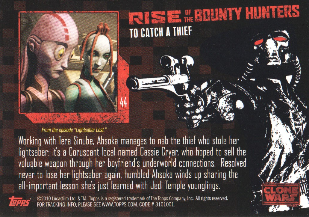 2010-Star-Wars-The-Clone-Wars-Rise-of-the-Bounty-Hunters-Cards-Pick-From-List miniature 89