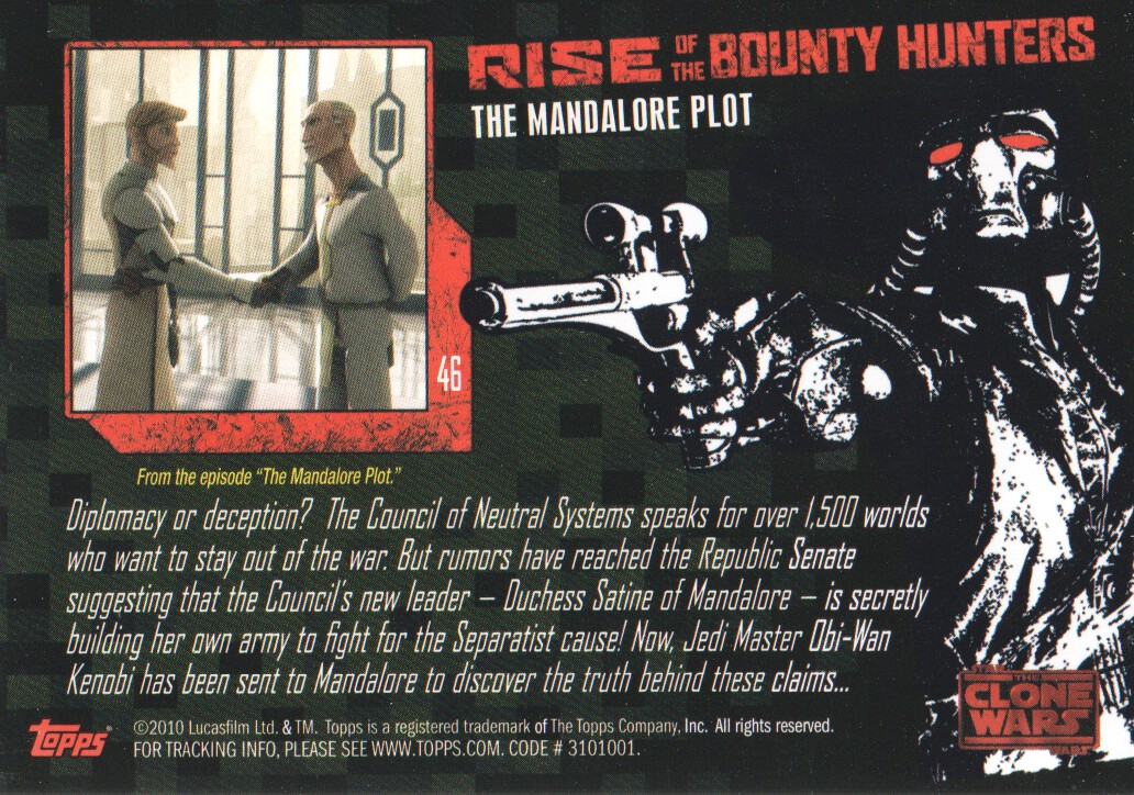 2010-Star-Wars-The-Clone-Wars-Rise-of-the-Bounty-Hunters-Cards-Pick-From-List miniature 93