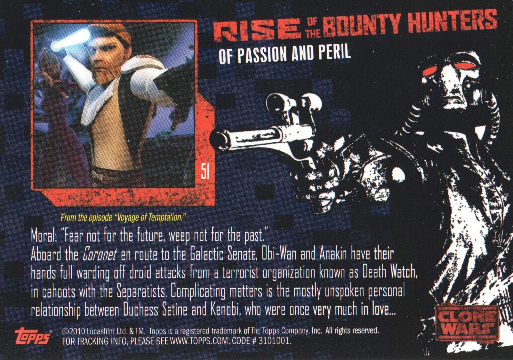 2010-Star-Wars-The-Clone-Wars-Rise-of-the-Bounty-Hunters-Cards-Pick-From-List miniature 103