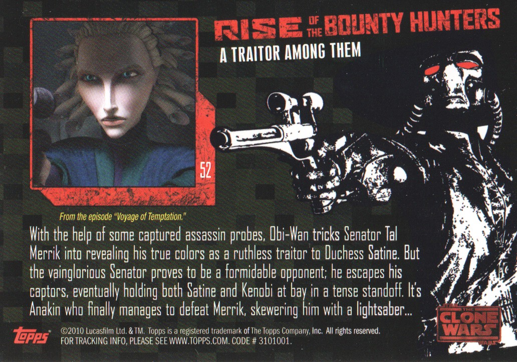 2010-Star-Wars-The-Clone-Wars-Rise-of-the-Bounty-Hunters-Cards-Pick-From-List miniature 105