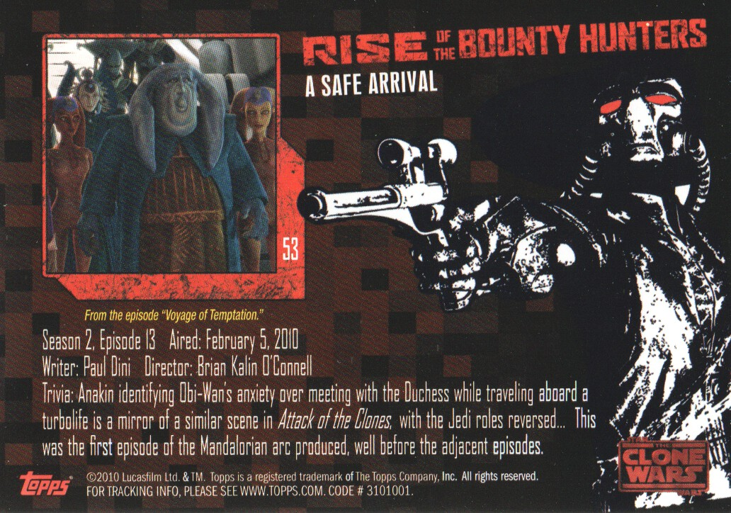 2010-Star-Wars-The-Clone-Wars-Rise-of-the-Bounty-Hunters-Cards-Pick-From-List miniature 107
