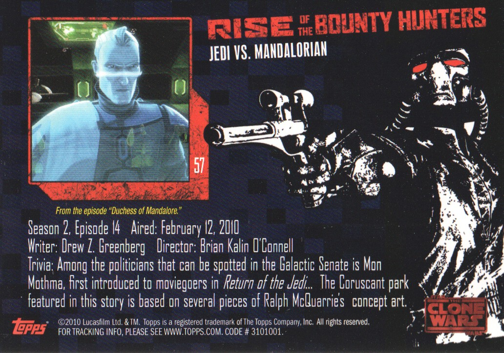 2010-Star-Wars-The-Clone-Wars-Rise-of-the-Bounty-Hunters-Cards-Pick-From-List miniature 115