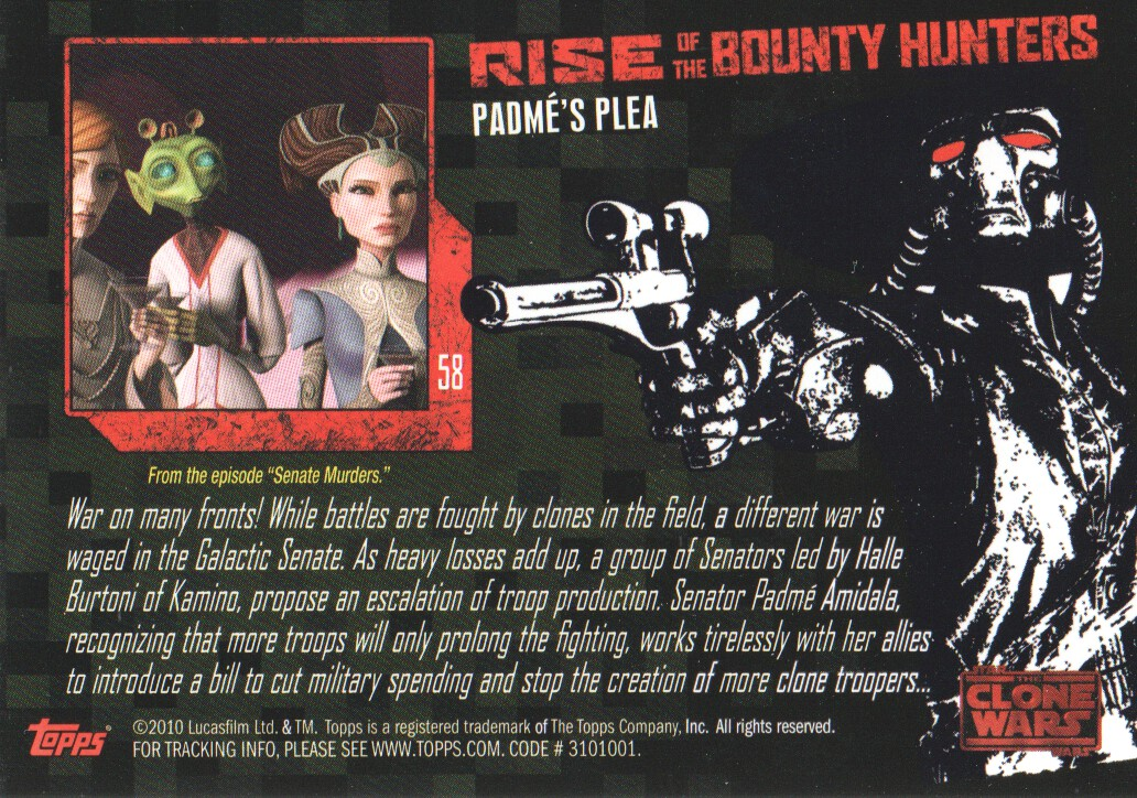 2010-Star-Wars-The-Clone-Wars-Rise-of-the-Bounty-Hunters-Cards-Pick-From-List miniature 117