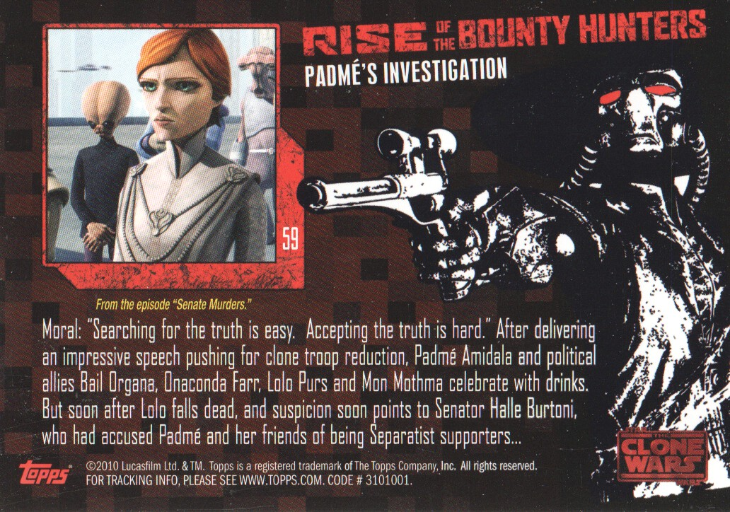 2010-Star-Wars-The-Clone-Wars-Rise-of-the-Bounty-Hunters-Cards-Pick-From-List miniature 119
