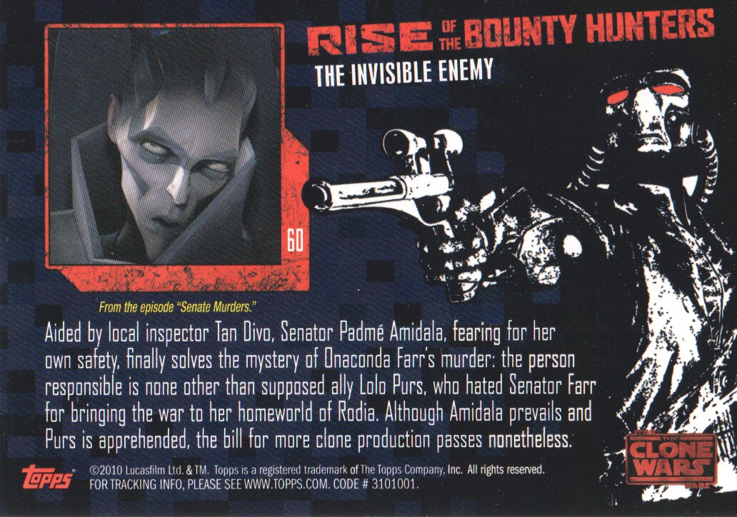 2010-Star-Wars-The-Clone-Wars-Rise-of-the-Bounty-Hunters-Cards-Pick-From-List miniature 121