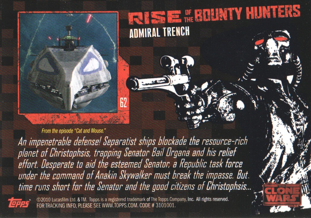2010-Star-Wars-The-Clone-Wars-Rise-of-the-Bounty-Hunters-Cards-Pick-From-List miniature 123