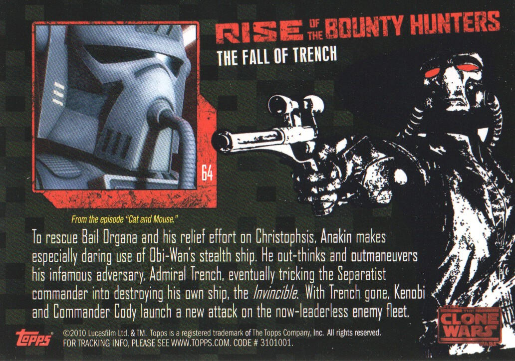 2010-Star-Wars-The-Clone-Wars-Rise-of-the-Bounty-Hunters-Cards-Pick-From-List miniature 127