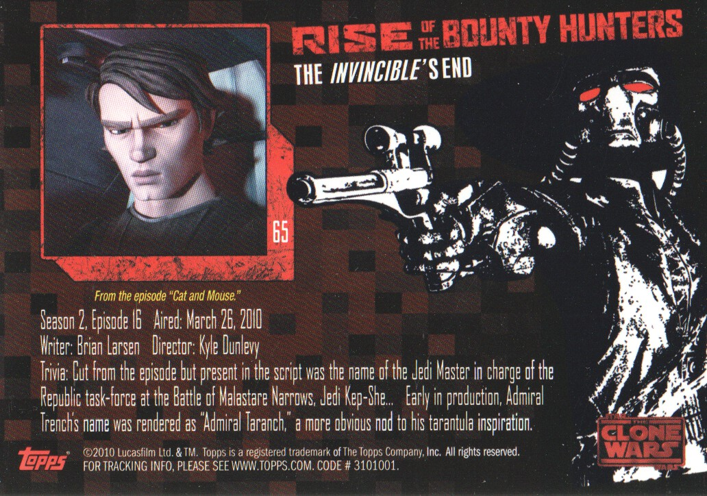 2010-Star-Wars-The-Clone-Wars-Rise-of-the-Bounty-Hunters-Cards-Pick-From-List miniature 129