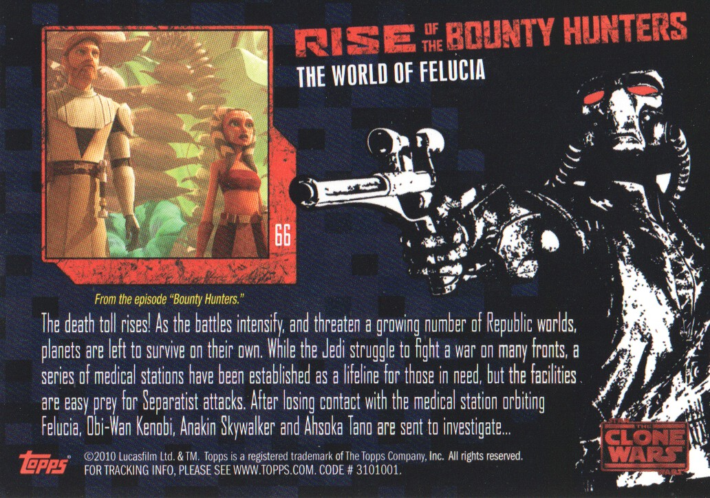 2010-Star-Wars-The-Clone-Wars-Rise-of-the-Bounty-Hunters-Cards-Pick-From-List miniature 131