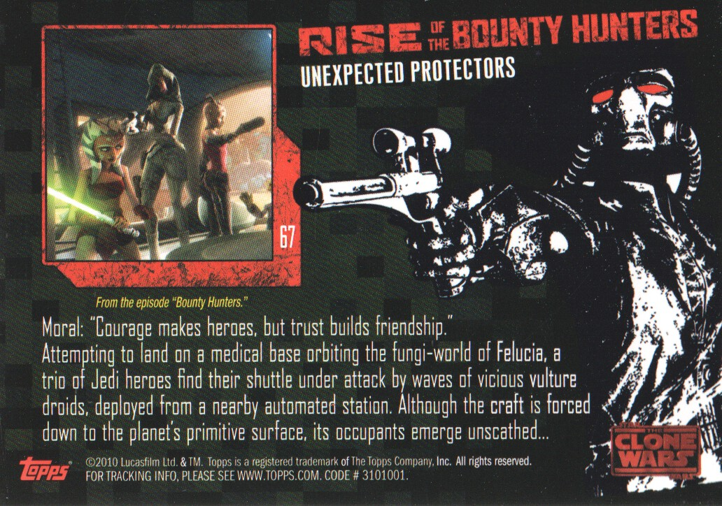 2010-Star-Wars-The-Clone-Wars-Rise-of-the-Bounty-Hunters-Cards-Pick-From-List miniature 133