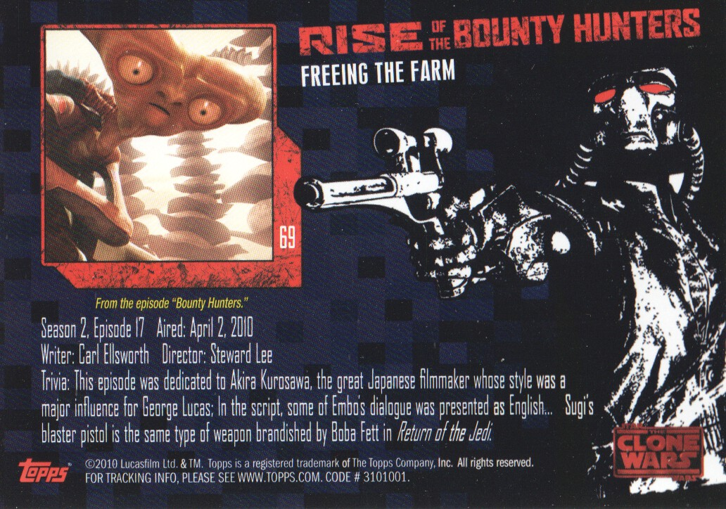 2010-Star-Wars-The-Clone-Wars-Rise-of-the-Bounty-Hunters-Cards-Pick-From-List miniature 137