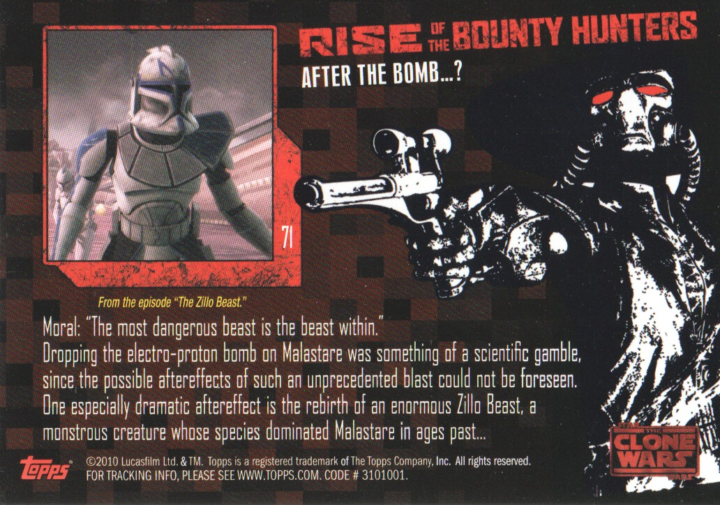 2010-Star-Wars-The-Clone-Wars-Rise-of-the-Bounty-Hunters-Cards-Pick-From-List miniature 141